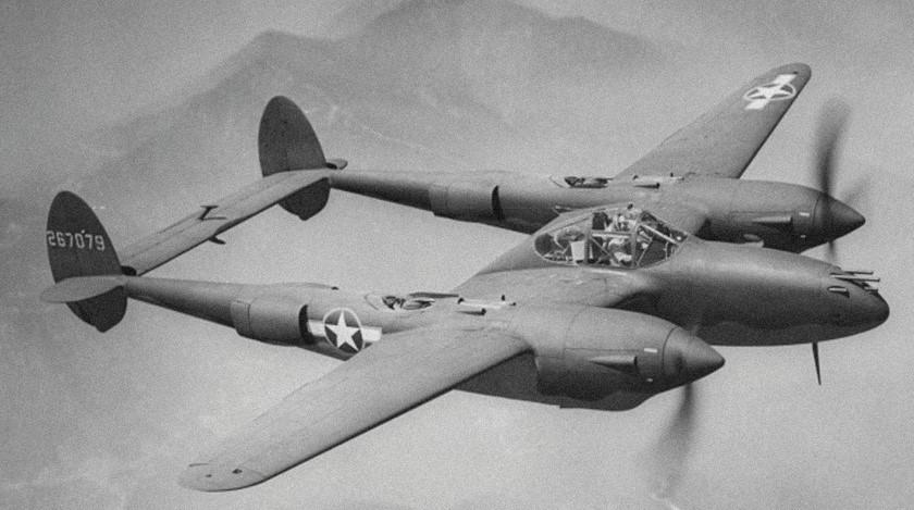 Lockheed P 38 Lightning Fighter American referencia