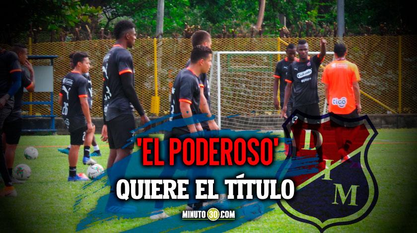 Medellin ultima detalles para partido ante Cali