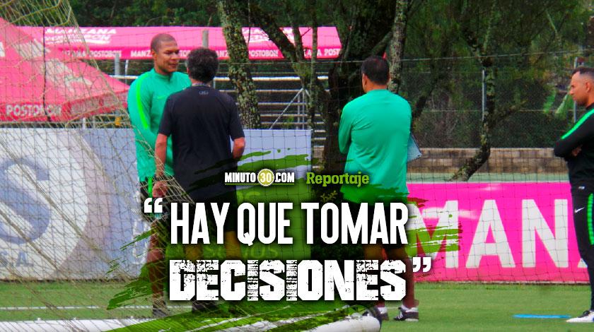 Osorio anticipa reestructuracion en Nacional que podria dejar por fuera a Henriquez y Bocanegra