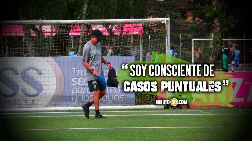 Osorio dice que le dio oportunidad a casi todos excepto a un par de jugadores