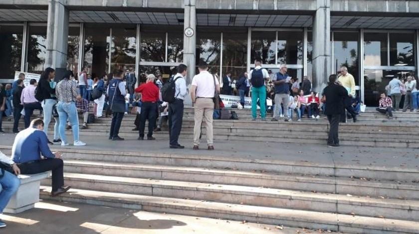 Paro rama judicial en Medellin