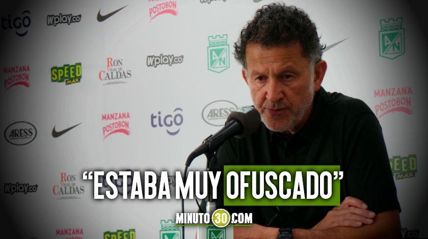 Por voluntad propia Juan Carlos Osorio ofrecio disculpas
