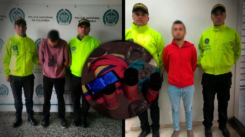capturados en allanamientos previo al paro