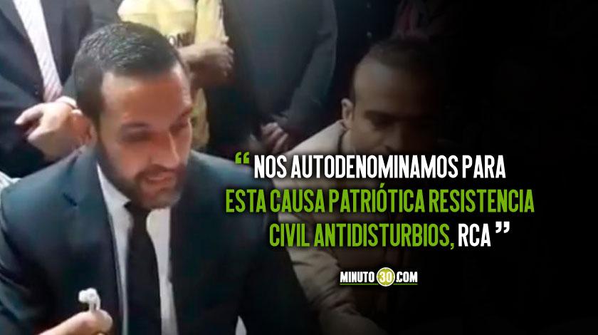 civiles anuncian creacion de un grupo antidisturbios en Medellin