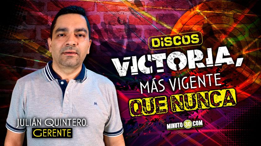entrevista julian quintero gerente discos victoria