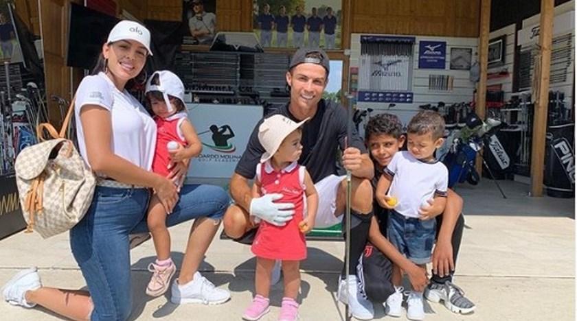 hijos Georgina Rodriguez y Cristiano