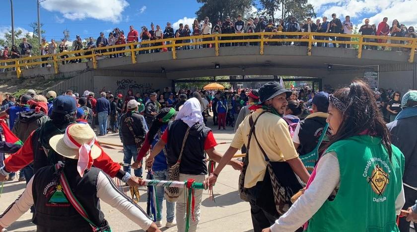 Nuevo llamado a paro en Colombia en tres fechas diferentes de noviembre