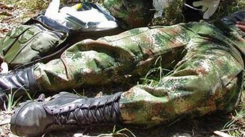 soldado herido en combate colombia
