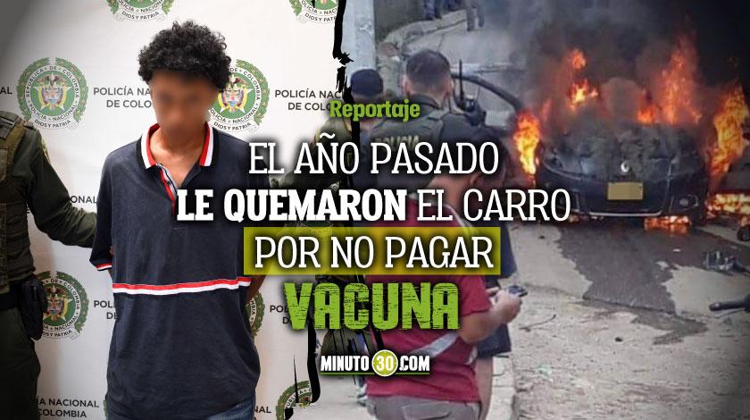 Alias Joel cabecilla de El Ajizal capturado estaria vinculado al asesinato de conductor informal en Itagui