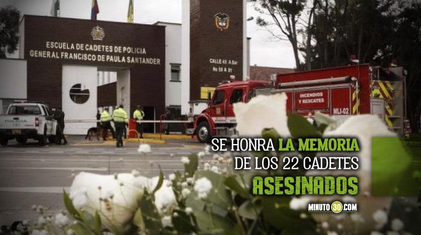 Atentado Escuela de Catedes General Santander Bogota