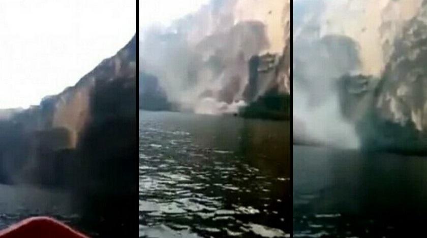 Canon del Sumidero en Chiapas Mexico caida video