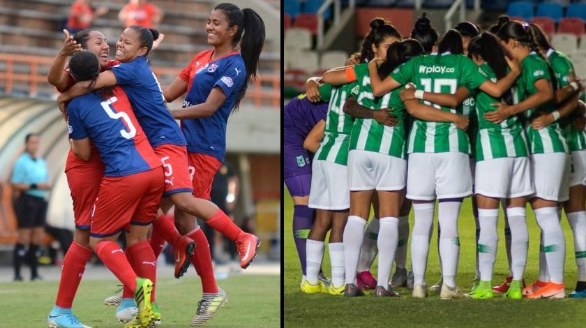 DIM y Atletico Nacional femenino