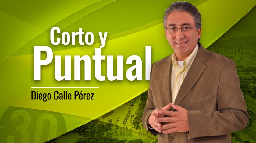 Diego Calle Pérez Corto y puntual