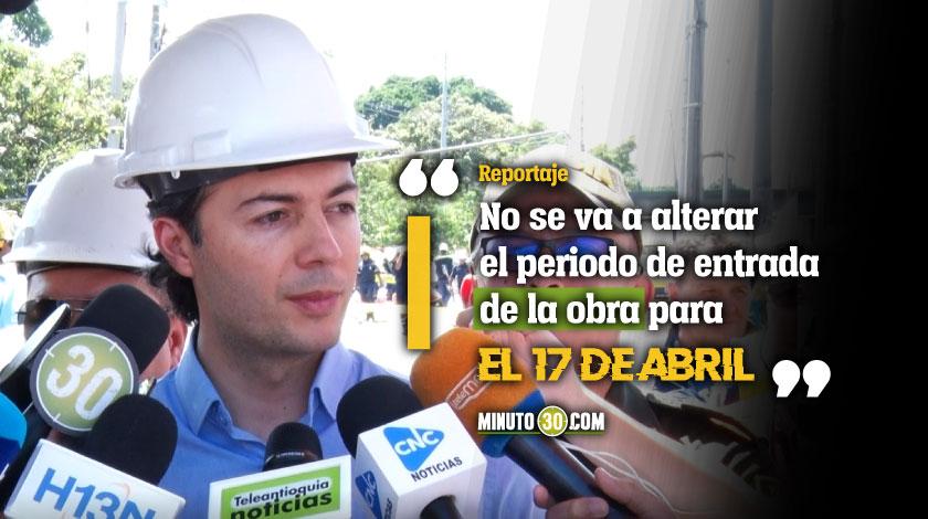 Estamos concentrados en cuidar el cable principal Alcalde de Medellin sobre incidente del Metrocable Picacho