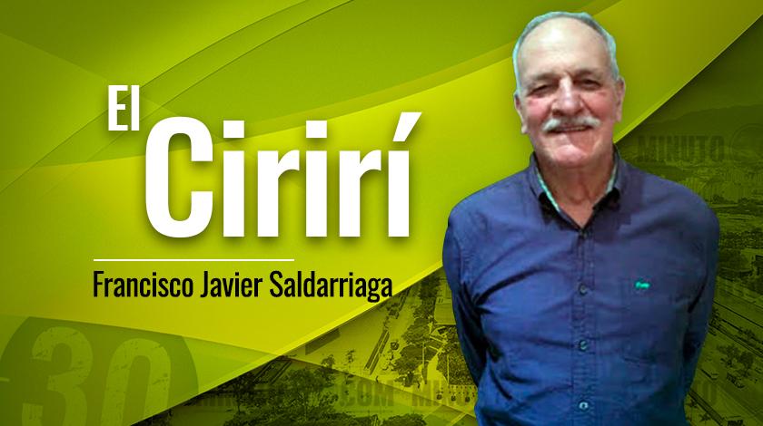 Francisco Javier Saldarriaga El Chirirí1