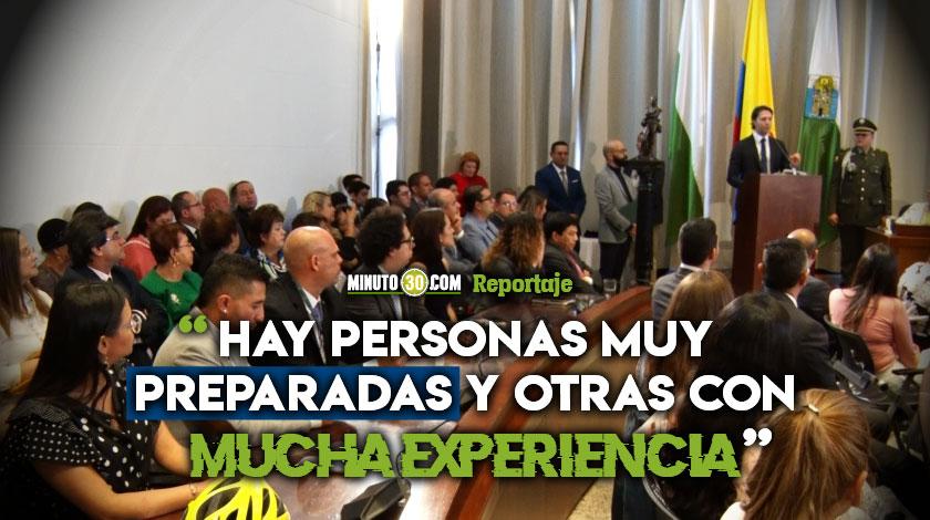 Gabinete municipal en visto bueno de los Concejales de Medellin