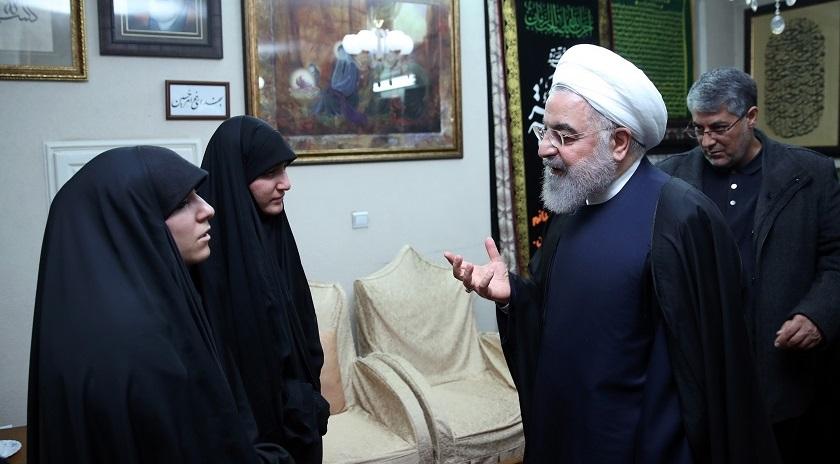 El presidente iraní, Hasan Rohaní