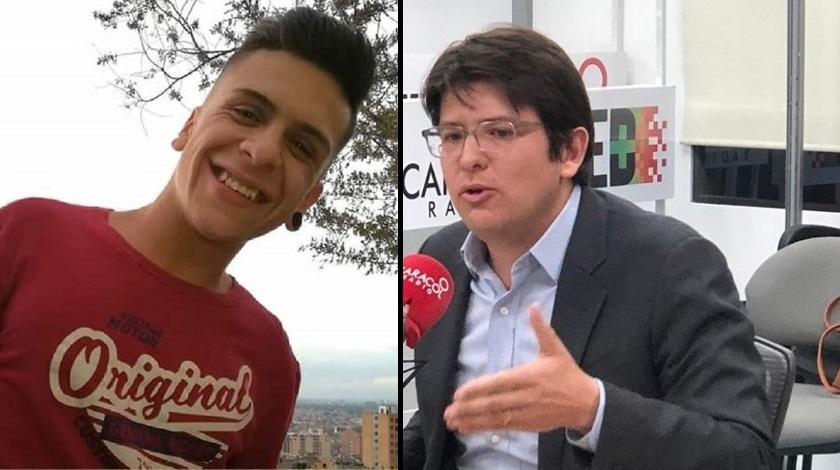 Miguel Uribe y Dilan Cruz