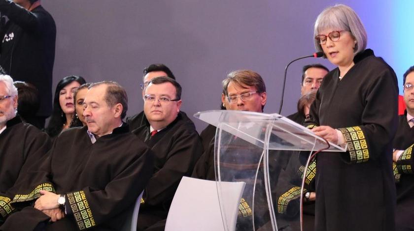 Patricia Linares Presidenta de la Jurisdiccion Especial para la Paz JEP