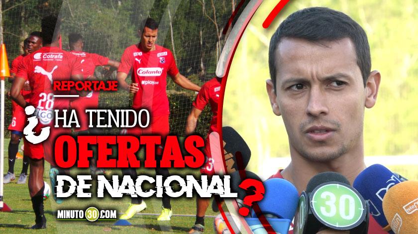 Ricaurte explico por que se quedo en Independiente Medellin