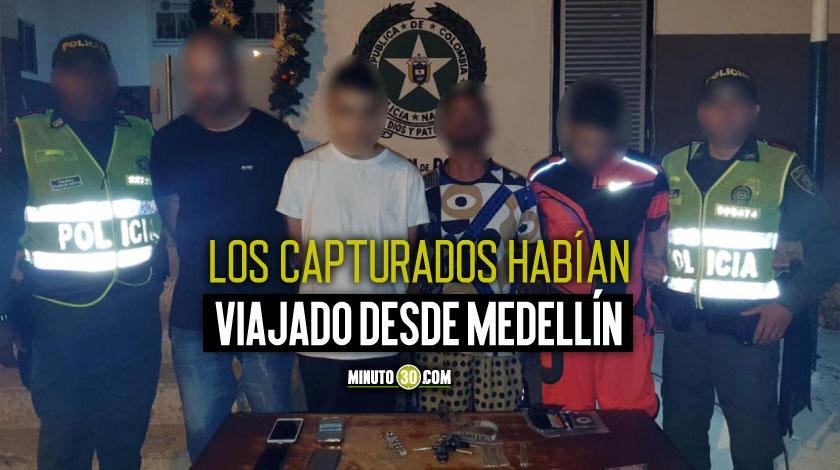 Se fueron para Cartagena a vender droga durante la temporada alta