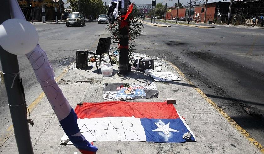 bandera de chile y colo colo