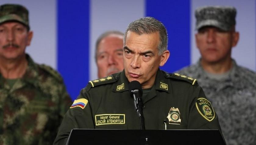 El Director General de la Policía colombiana dio positivo para Covid-19