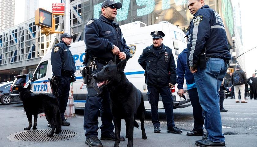 policias de nueva york