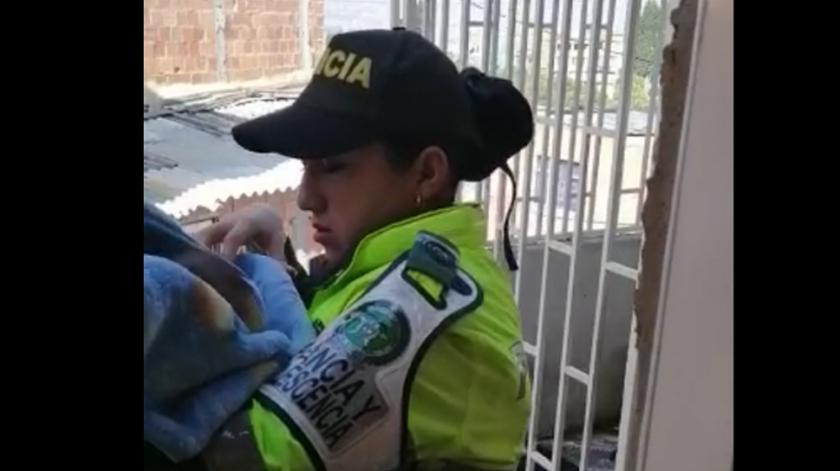 rescatamos un bebe en la ciudad de bogota 0