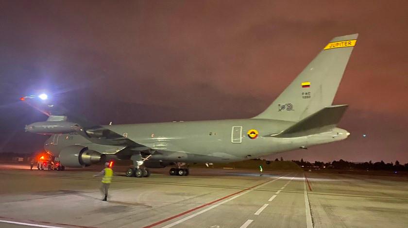 Avion que traera a los colombianos de China