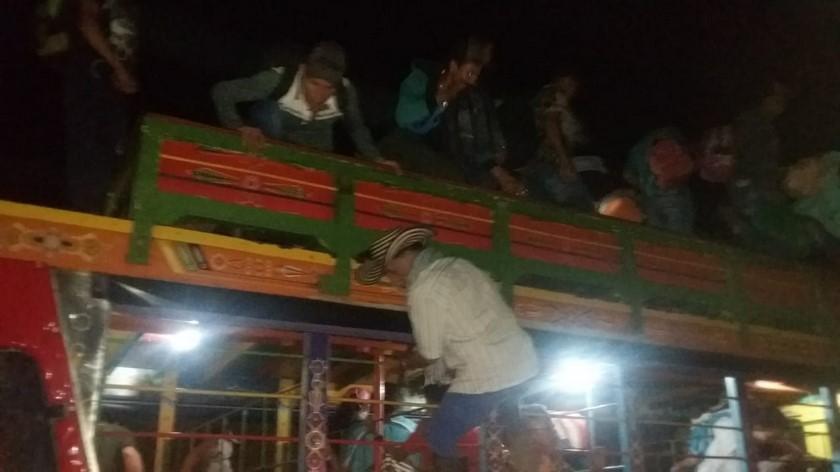 Desplazados municipio de Ituango Antioquia