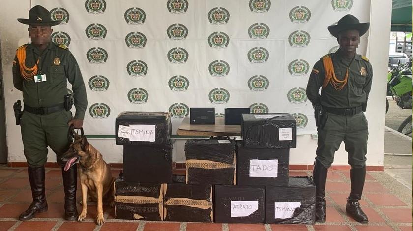 Incautan 90 tablets en aeropuerto de Quibdo Choco