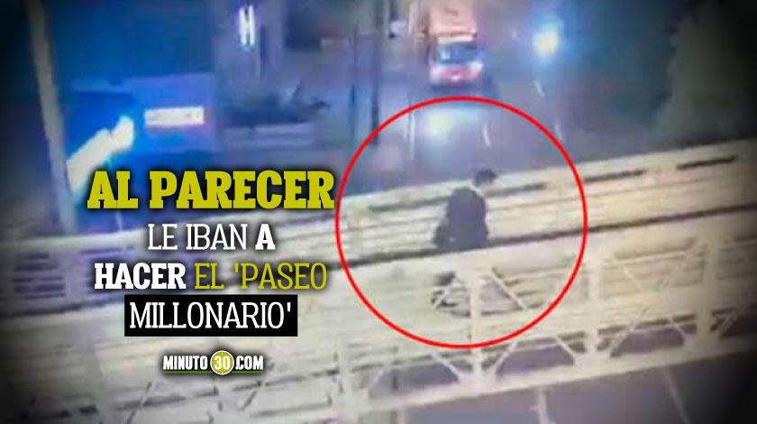 Medico que mato a tres presuntos ladrones en Bogota