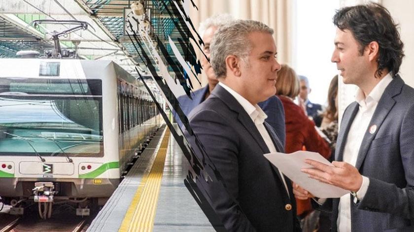 Metro de Medellin Daniel Quintero Ivan Duque