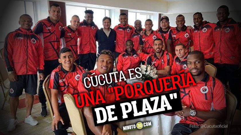 Se filtra polemico audio de Jose Cadena quien se llevara al equipo de Cucuta