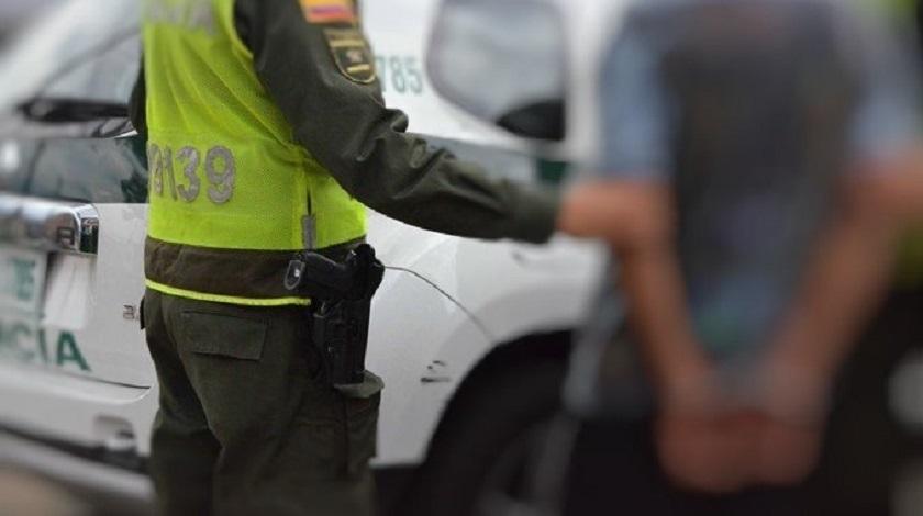 capturado detenido policia operativo preso