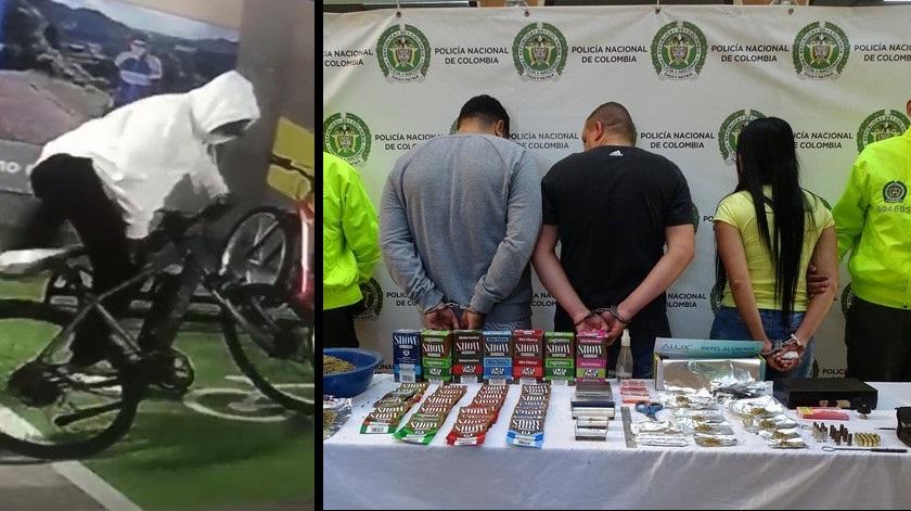 capturados por hurto a bicicletas