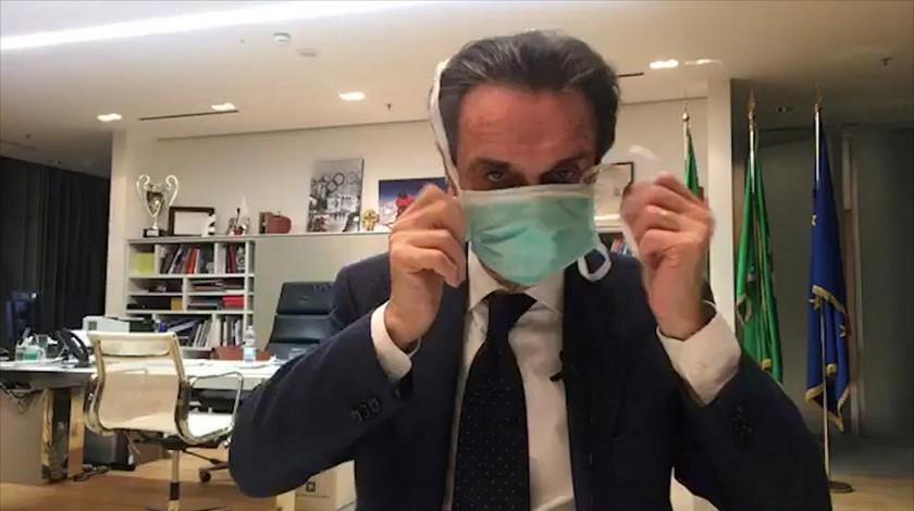 31 03 20 presidente lombardia Attilio Fontana