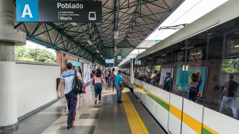 Estacion Poblado del Metro de Medellin