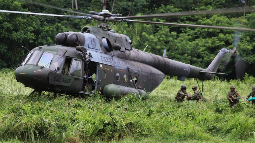 Encuentran 9 cuerpos sin vida de los 11 uniformados desaparecidos en accidente de helicóptero en Guaviare
