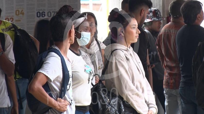 Tapabocas tapa bocas coronavirus gripa proteccion boca Metro de Medellin6