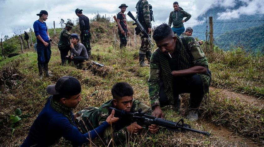 guerrilleros colombia