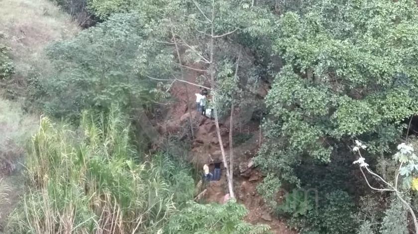 muerto en zona boscosa de medellín 17 03 2020 1