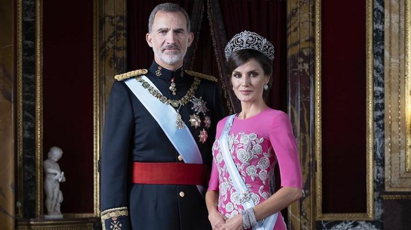 rey felipe vi y reina.letizia ortiz reyes de espana 13.03.20