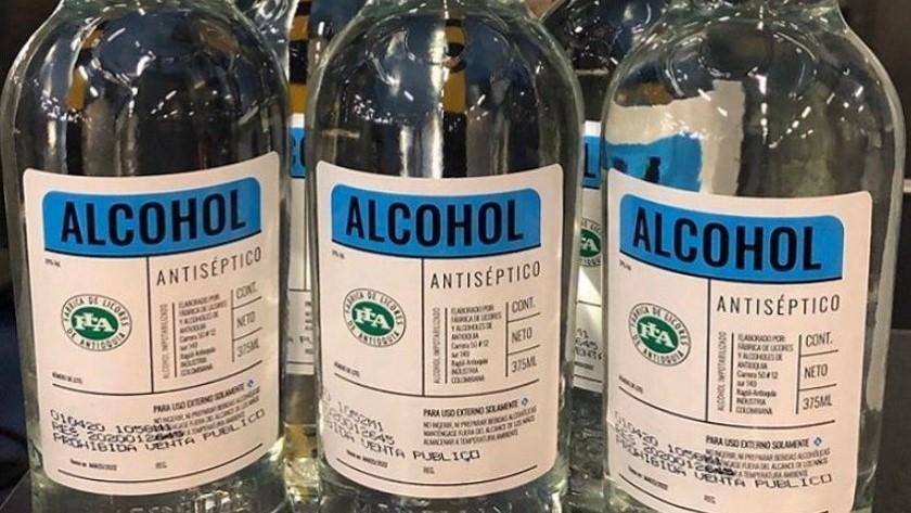 ALCOHOL ANTI FLA