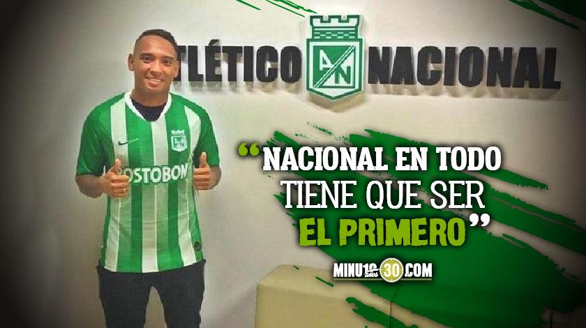 En Nacional auguran que Jarlan Barrera va representar muy bien al Verde en la eLiga Dimayor