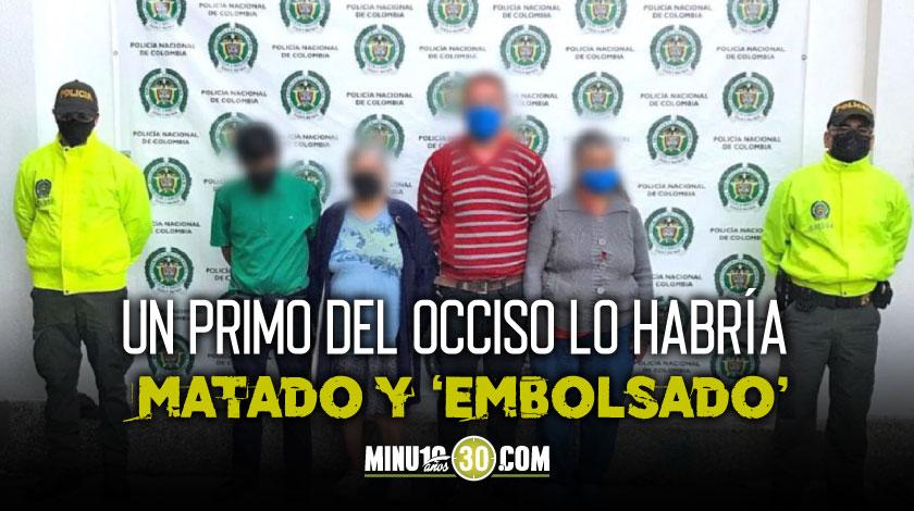 Matan a un familiar en Rionegro Antioquia por una herencia