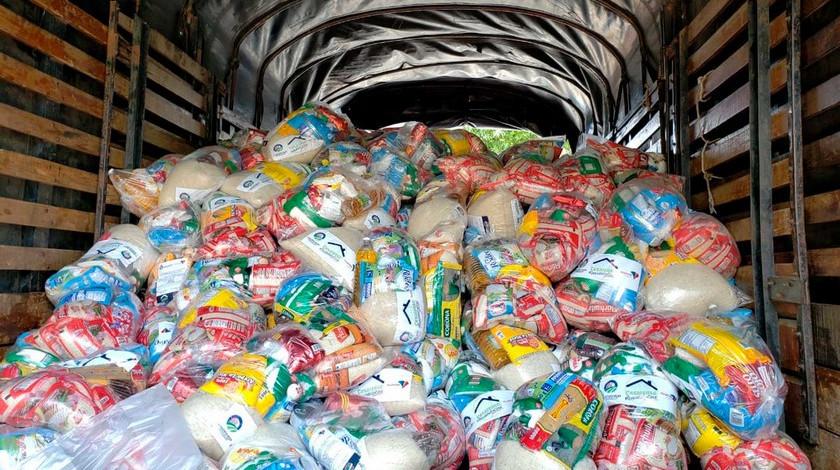 Mercados donados en cuarentena Colombia coronavirus