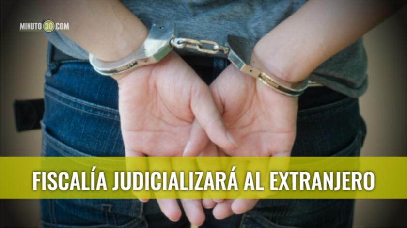 Por golpear a un Policía Fiscalía judicializará a un ciudadano
