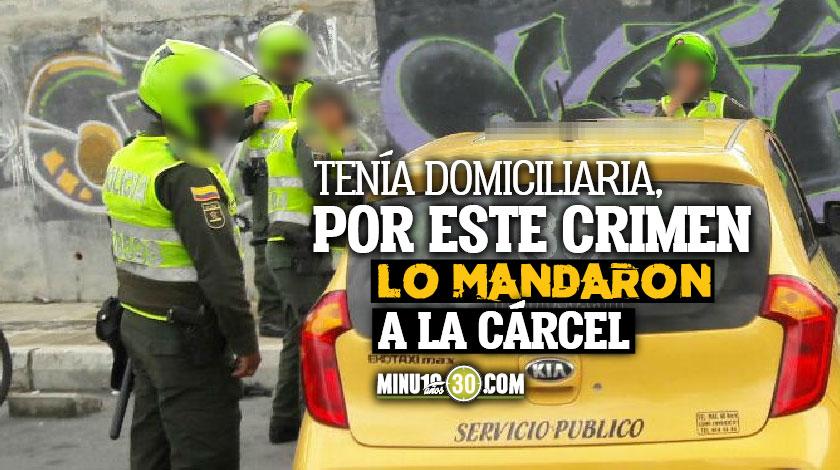 Sujeto comete atentado sicarial desde un taxi en Barrio Antioquia Medellin